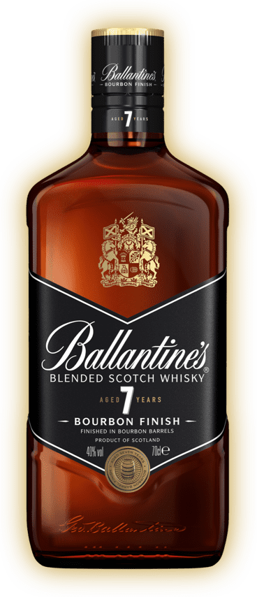 ballantines bottle